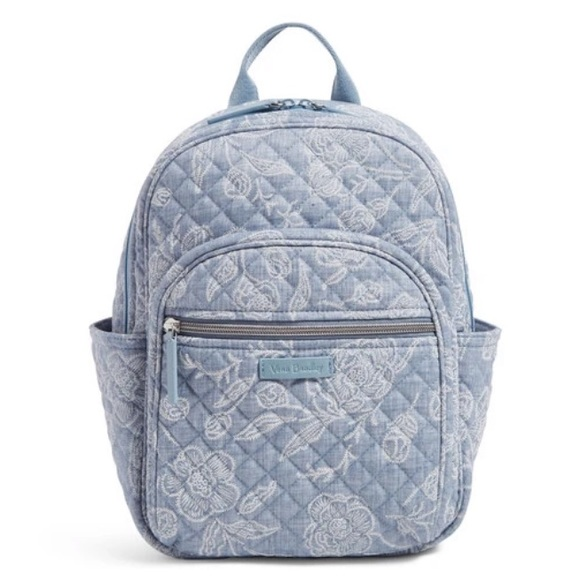 🆕Vera Bradley Iconic Lg Park Lace Campus Backpack